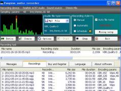 Fangxun audio recorder Screenshot