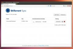 Resilio Sync (BitTorrent Sync) Screenshot
