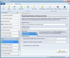 Paquet Builder Screenshot