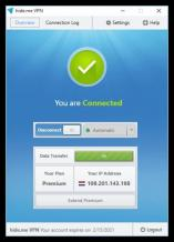 hide.me VPN Screenshot