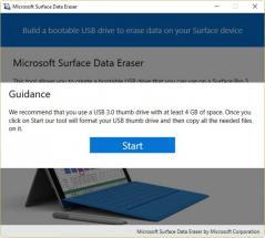 Microsoft Surface Data Eraser Screenshot