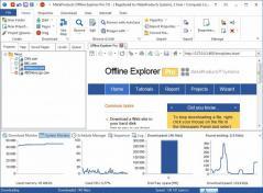 Offline Explorer Pro Screenshot