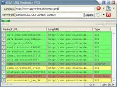 GSA URL Redirect PRO Screenshot