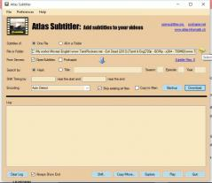 Atlas Subtitler Screenshot