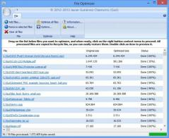 FileOptimizer Screenshot