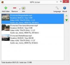 MP4Tools Screenshot