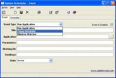 System Scheduler Screenshot