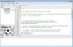 Gideros Screenshot