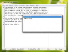 TED Notepad Screenshot