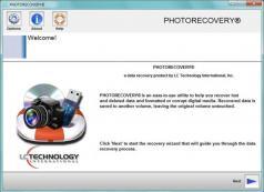 PHOTORECOVERY Professional Screenshot