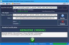Windows and Office Genuine ISO Verifier Screenshot