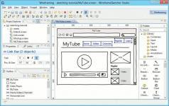 WireframeSketcher Screenshot