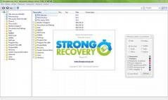 StrongRecovery Portable Screenshot