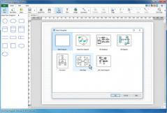 ClickCharts Free Diagram and Flowchart Maker Screenshot