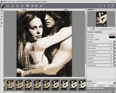 AKVIS Charcoal Screenshot