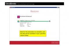 CloudBacko Lite Screenshot