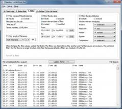 Directory List & Print Screenshot