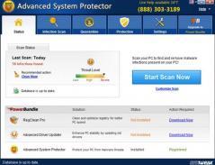 Advanced System Protector Screenshot