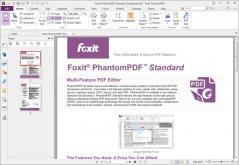 Foxit PhantomPDF Standard Screenshot