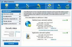 Zillya! Antivirus Definition Updates Screenshot