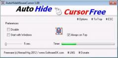 AutoHideMouseCursor Screenshot