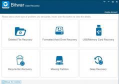 Bitwar Data Recovery Screenshot