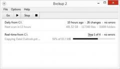 Bvckup 2 Screenshot