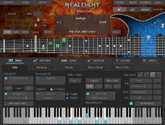 MusicLab RealGuitar Screenshot