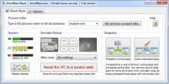 AlomWare Reset Screenshot