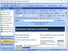 SuperMailer Screenshot