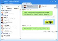 Output Messenger Screenshot
