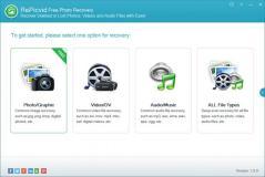 RePicvid Free Photo Recovery Screenshot