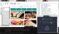 Sushi Browser Screenshot