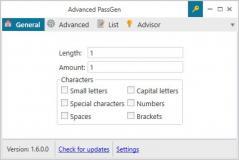 Advanced PassGen Screenshot