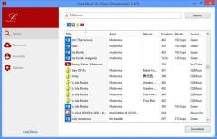 Free Music & Video Downloader Screenshot
