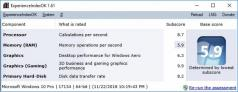 ExperienceIndexOK Screenshot