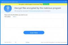 360 Ransomware Decryption Tools Screenshot