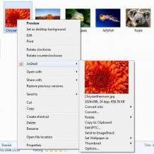 XnView Shell Extension Screenshot