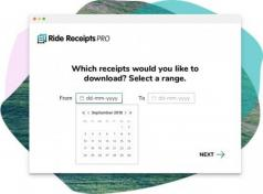 Ride Receipts (Uber Run) Screenshot
