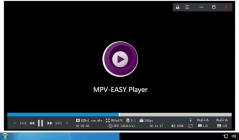 MPV-EASY Player Screenshot