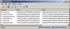HashMyFiles Screenshot