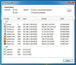 NetSpeedMonitor Screenshot