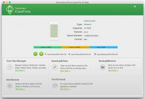 Tenorshare iCareFone Screenshot