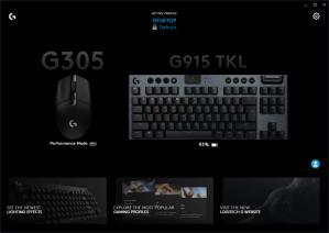Logitech G HUB Screenshot