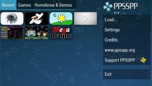 PPSSPP Screenshot