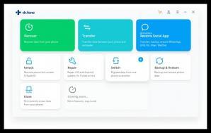 Wondershare Dr.Fone Toolkit for iOS Screenshot