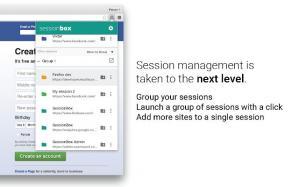 SessionBox Screenshot