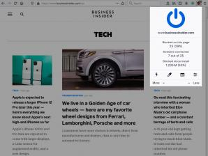 uBlock Origin for Firefox Screenshot