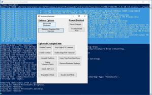 Windows10Debloater Screenshot