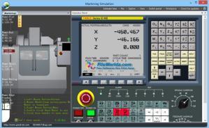 Machining Simulation Screenshot